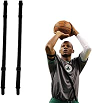 shiyode Basketball Shooting Aid Straight Shooter Strap 2 Pieces Training Posture Belts Correction Auxiliary Eq