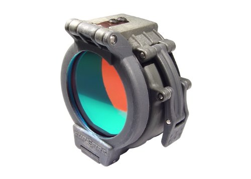 Diameter Bezels (Flip Up Red Filter for SureFire Flashlights with 1.25