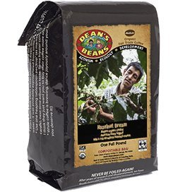 Dean's Beans Organic Coffee Company, Flavored Coffee, 16 Ounce Bag