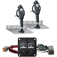 Lenco 12 x 12 Standard Trim Tab Kit w/Double Rocker Switch Kit