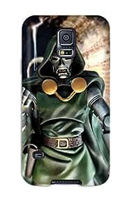 CKacwsU3368jmRZp Case Cover Protector For Galaxy S5 Doctor Doom Case