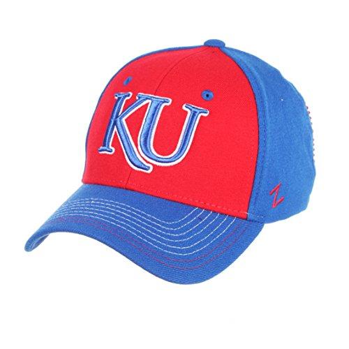 NCAA Kansas Jayhawks Men's Stitch Hat, Medium/Large, Team Color