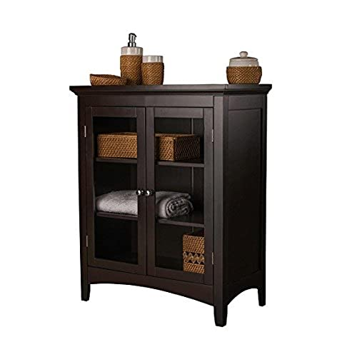 Storage Cabinets   This Floor Cabinet Will Bring Beauty As A Bathroom  Storage Cabinet , Linen Cabinet Or A General Purpose Hallway Cabinet With  Its Double ...