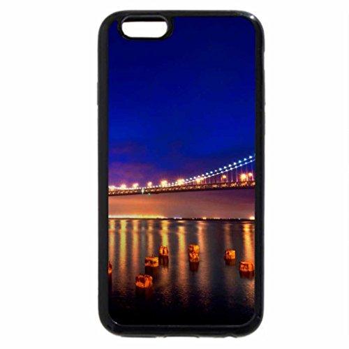 iPhone 6S / iPhone 6 Case (Black) San Francisco Bridge