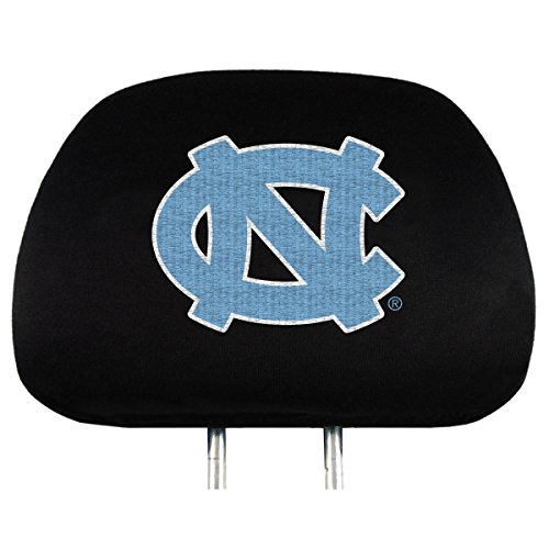 NCAA North Carolina Tar Heels Head Rest Covers, 2-Pack