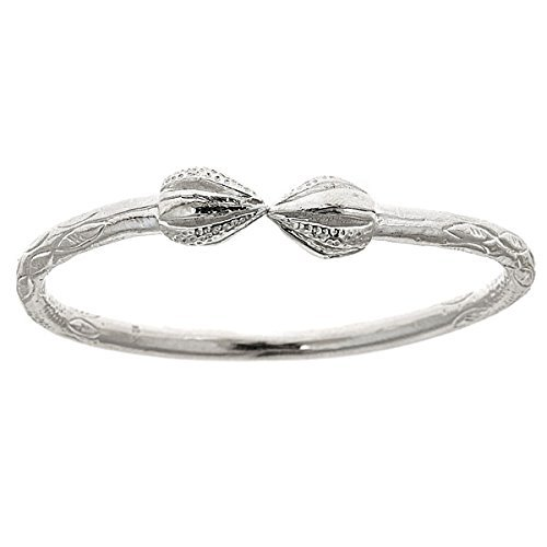 Pointy Sterling Silver Indian Bangle product image