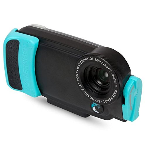 Watershot PRO Housing for iPhone 7 (Limpet Shell) Flat Lens Port only by Watershot Inc.