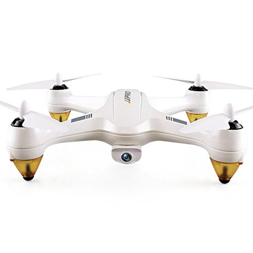Boyiya GPS Drone, JJRC JJPRO X3 RC Quadcopters Drone GPS 2.4G 6CH Brushless WiFi FPV 1080P Altitude Hold /Auto Low-voltage/Auto Signal-loss Return Home RTF (White) by Boyiya