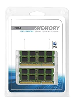 Crucial 4gb Kit (2gbx2) Ddr3ddr3l 1333 Mts (Pc3-10600) Sodimm 204-pin Memory For Mac - Ct2k2g3s1339m 4