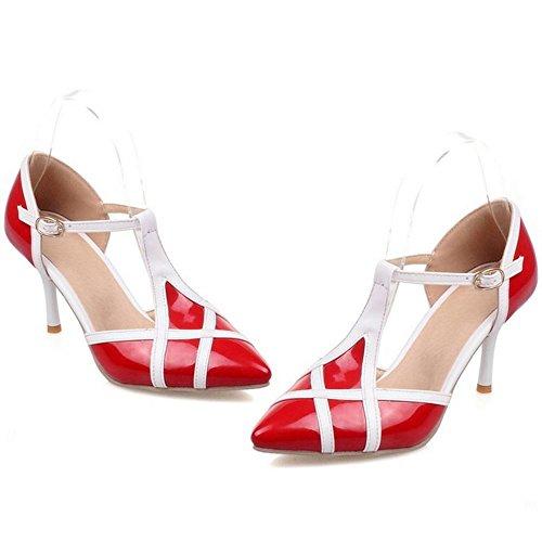 Donna 2 Zanpa T Strap Mode Sandali Red qpddvw
