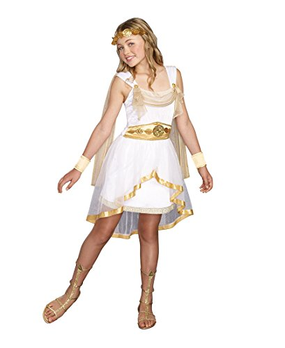 Greek Olympian Costume (Miss Olympian Tween Costume - X-Large)