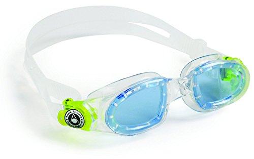 Aqua Sphere Moby Kids Swim Goggles w/Blue Tint- Clear