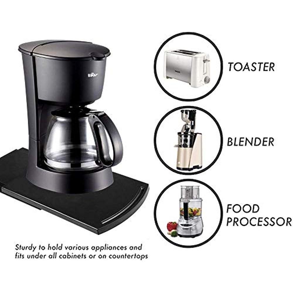Appliance Caddy Sliding Coffee Maker Tray 12 Quot Pot Slider