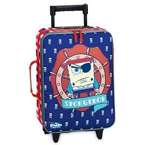 Nickelodeon sponge bob 20215 0500 suitcase with ruedas 30 x 40 x 14 azul marino