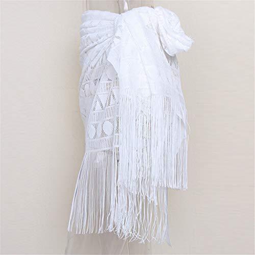 White Bessky Tablier Dentelle En Maillot De T Clothes shirt Bain 8p5z8xZSn