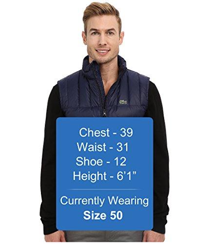40f01ac96 Lacoste Men s Packable Down Vest Navy Blue Navy Blue Outerwear 50 ...