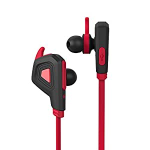 wireless bluetooth headsets j l 100 sport headphones with mic noise isolation bluetooth. Black Bedroom Furniture Sets. Home Design Ideas