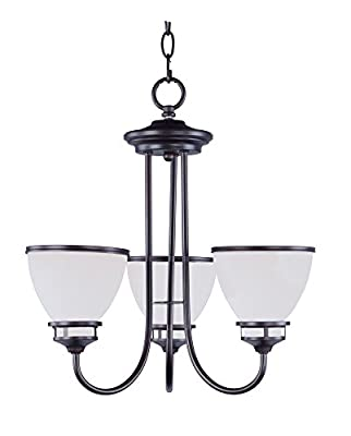 Maxim Lighting 21584SWOI Novus-Chandelier 3-Light