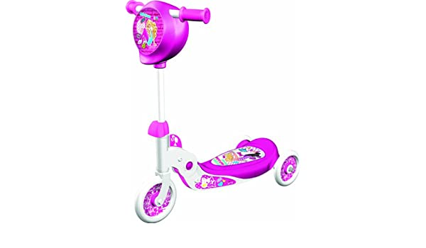 Barbie - Patinete 3 ruedas plegable (Mondo 18274): Amazon.es ...