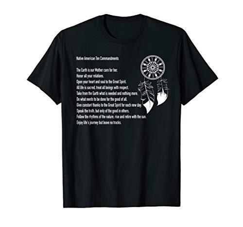 Native American Ten Commandments Shirt (Ten Native American Commandments)