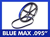 New Heavy Duty Band Saw Urethane 2 Blue Max Tire Set FOR DELTA 28-306G BAND SAW