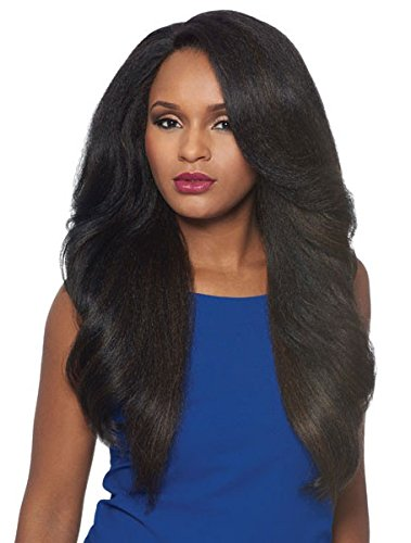 Outre Synthetic L-Part Lace Front Wig NEESHA Color #1 Jet Black