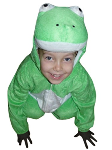 Fantasy World Frog Halloween Costume f. Toddlers/Boys/Girls, Size: 3t, J01
