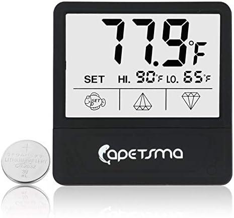Mini Termómetro digital para acuario pantalla táctil 2