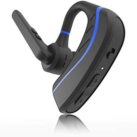ワイヤレスBluetoothヘッドセット、インイヤーイヤホン、ハンズフリーヘッドフォン、運転/ビジネス/オフィス用のステレオノイズキャンセリングマイク、iPhoneおよびAndroid zz