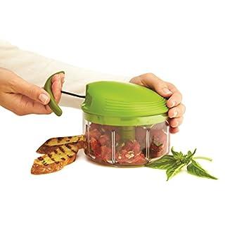 Kuhn Rikon Pull Chop, 2 Cup Food Chopper, Green