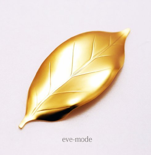 Chopstick rest < leaf branches every action SaYo> 18-8 stainless Blast gold finish