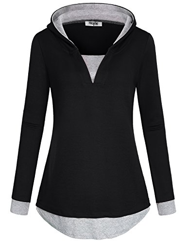 Cotton V-Neck Sweatshirt - 8