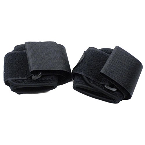 Adjustable Neoprene Wrist Wrap and Support Wristbands Support Braces, A Pair