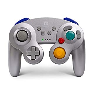 PowerA Wireless Controller for Nintendo Switch - GameCube Style: Silver - Nintendo Switch