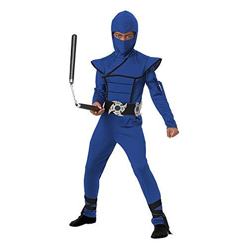 California Costumes Stealth Ninja Child Costume (Blue), ()