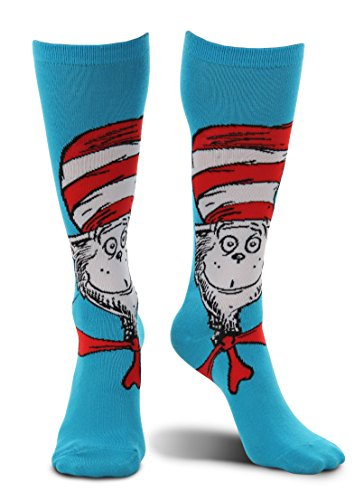 elope Dr. Seuss Cat in The Hat Knee High Costume (Funky Cat Costumes Costumes)