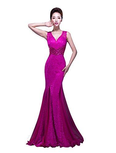 Beauty-Emily -  Vestito  - fasciante - Donna rosso 40