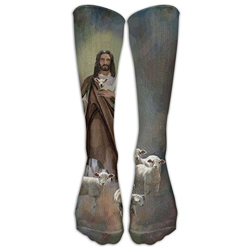 Toddler College Football Costumes (Thanksgiving Jesus Sheep Compression Socks Football Socks Sports Stockings Long Socks)