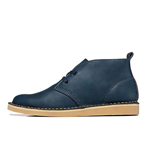 ICEGREY Herren Desert Boots Kurzschaft Stiefel & Stiefeletten Blau EU 40