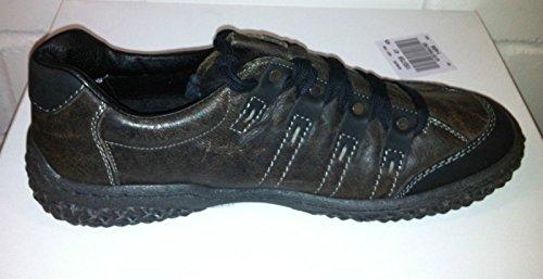 Rieker - Zapatos de cordones de Piel para hombre Marrón marrón 41