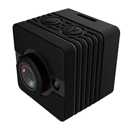Semoic SQ12 Mini Camara Resistente al Agua HD 1080P DVR Lente Camaras de Video Deportivas Gran Angular Videocamara Mini PK SQ8 SQ9 Q11