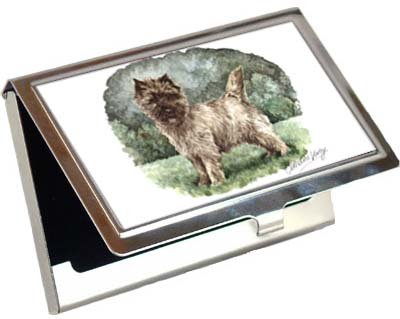Cairn Terrier Business Card / Credit Card Case ()