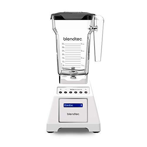 Blendtec Total Classic Original Blender - FourSide Jar (75 oz) - Professional-Grade Power - 6 Pre-programmed Cycles - 10-speeds - White ()