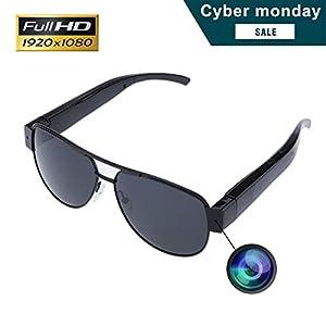 Sunglasses Camera, KAMRE Full HD 1080P Stylish Eyewear Camera Mini Video & Photo Recorder with UV Protection Polarized Lens