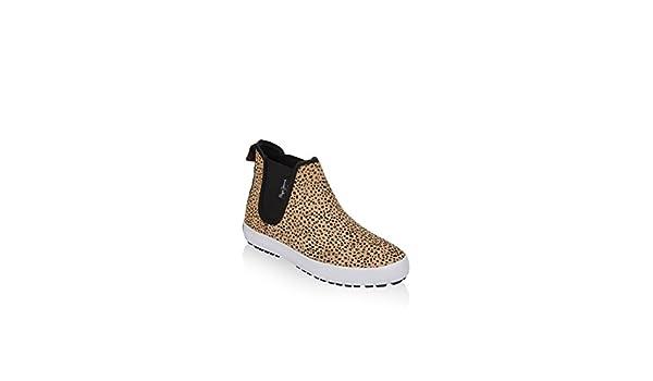 Pepe Jeans London Botines Ripley Animal Print Leopardo EU 36: Amazon.es: Zapatos y complementos