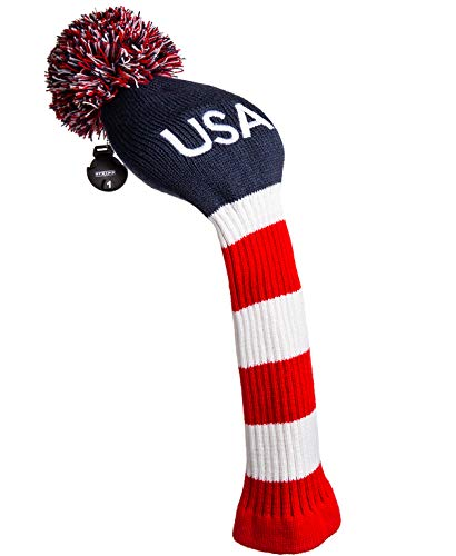 Stripe Golf USA Knitted Golf Club Head Cover for Driver
