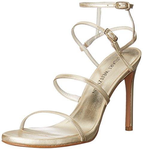 Stuart Weitzman Women's Courtesan Dress Sandal, Cava, 7 M US - Stuart Weitzman Evening Shoes