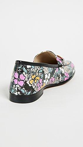 Loafer Women's Bright Sam Multi Edelman Black Loraine qtxt4w56P