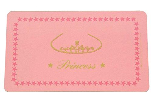 Kinder Schneidebrettchen Frühstücksbrettchen 'Princess' in Pink 23x14 cm