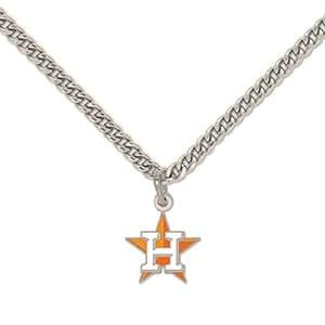 Houston Astros Pendant Necklace